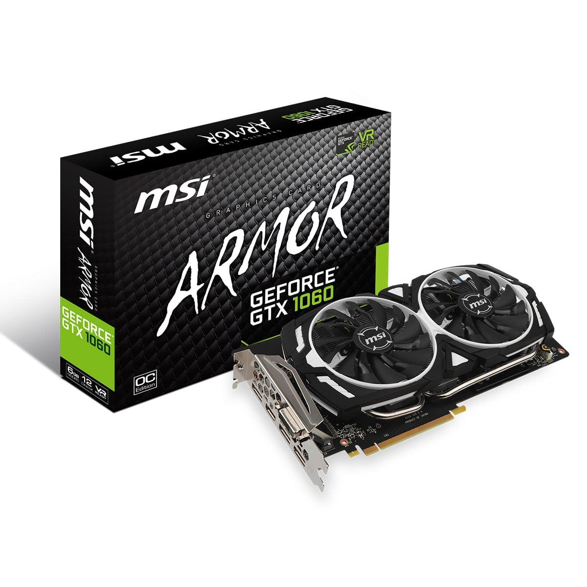 GF GTX 1060 ARMOR 6GB + SSD 240G Kingston offert - Cybertek.fr - 1