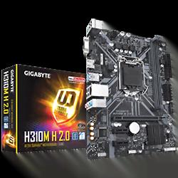 image produit Gigabyte H310M-H 2.0 - H310/LGA1151(2017)/DDR4/mATX Cybertek