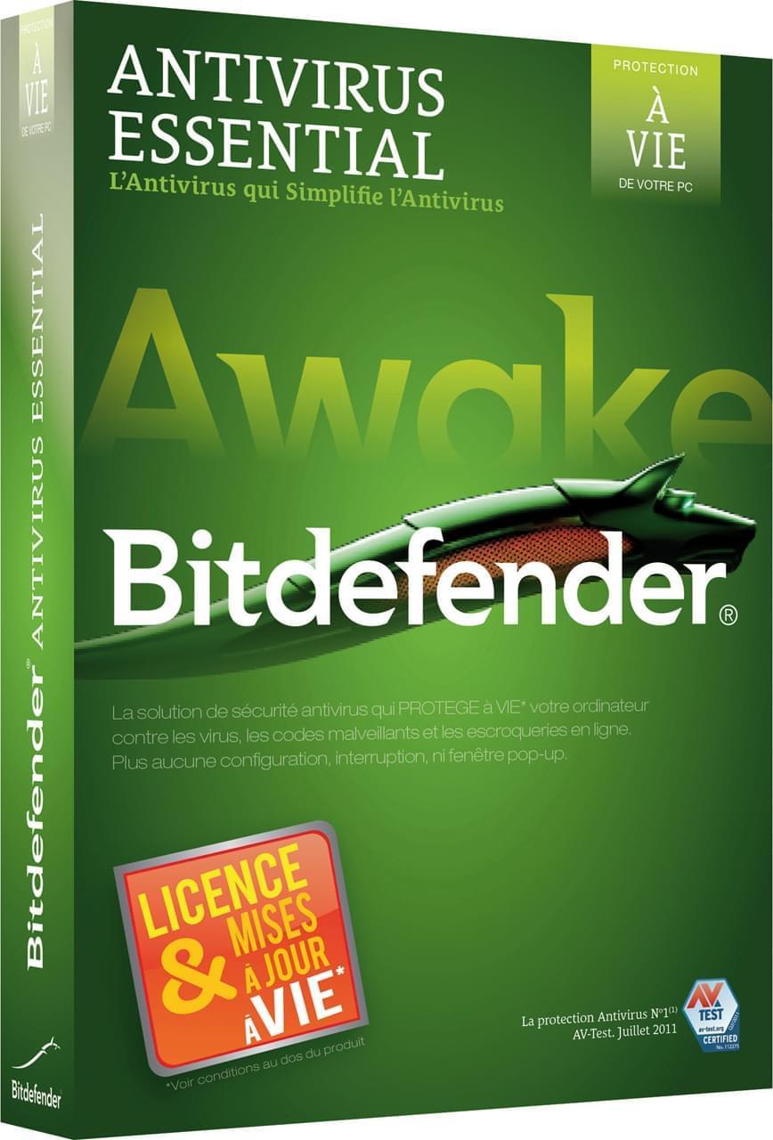 Bitdefender Essential (B-FBDAVE2WIP001 obso -> 24653) - Achat / Vente Logiciel sécurité sur Cybertek.fr - 0