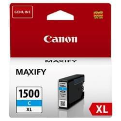 image produit Canon Cartouche PGI-1500XL Cyan - 9193B001 Cybertek