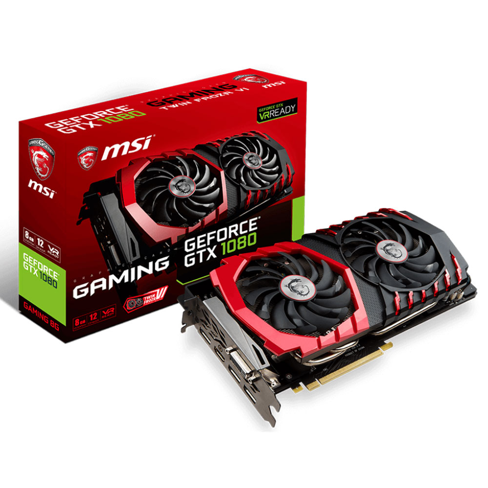 MSI GTX 1080 GAMING 8G 8Go - Carte graphique MSI - Cybertek.fr - 0