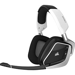 image produit Corsair VOID RGB ELITE WIRELESS White - CA-9011202-EU Cybertek