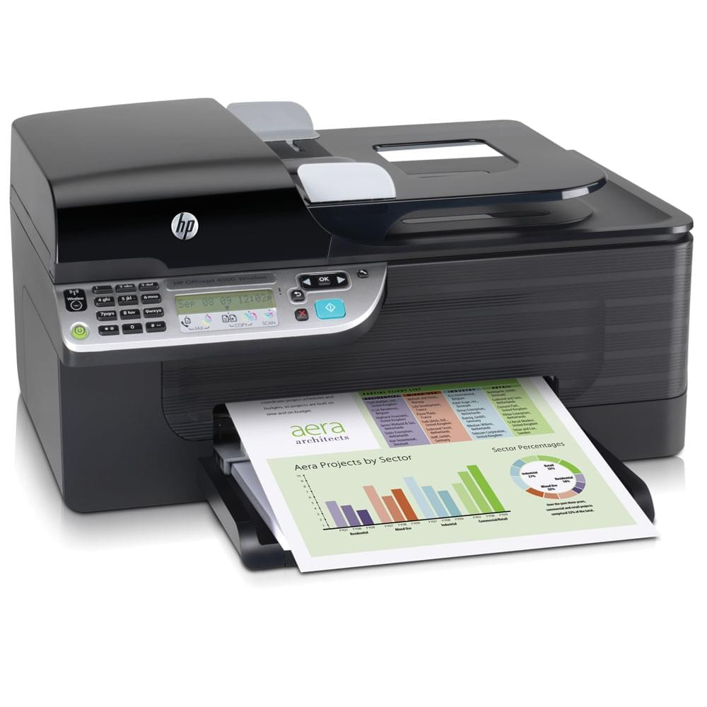 HP OfficeJet 4500 All in One (CB867A#BEL) - Achat / Vente Imprimante Multifonction sur Cybertek.fr - 0
