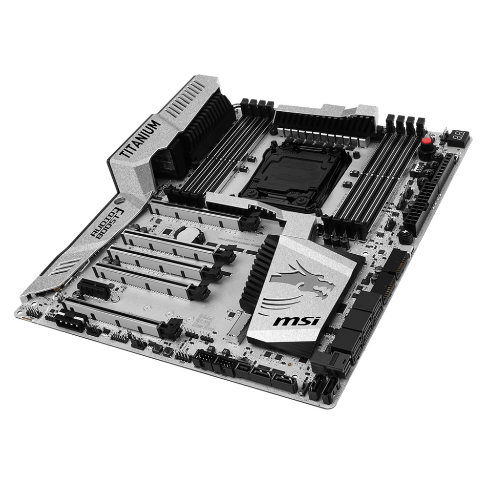 MSI X99A Xpower Gaming Titanium ATX DDR4 - Carte mère MSI - 3