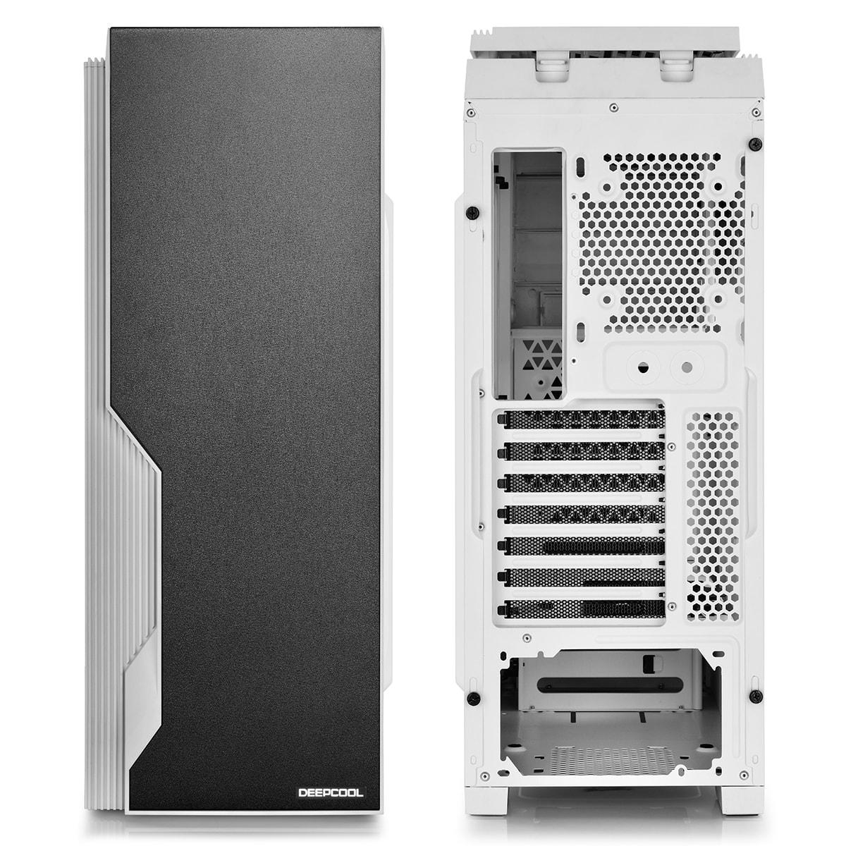 Deepcool DUKASE V2 Blanc - mT/Ss Alim/ATX (DUKASE WHV2) - Achat / Vente Boîtier PC sur Cybertek.fr - 4