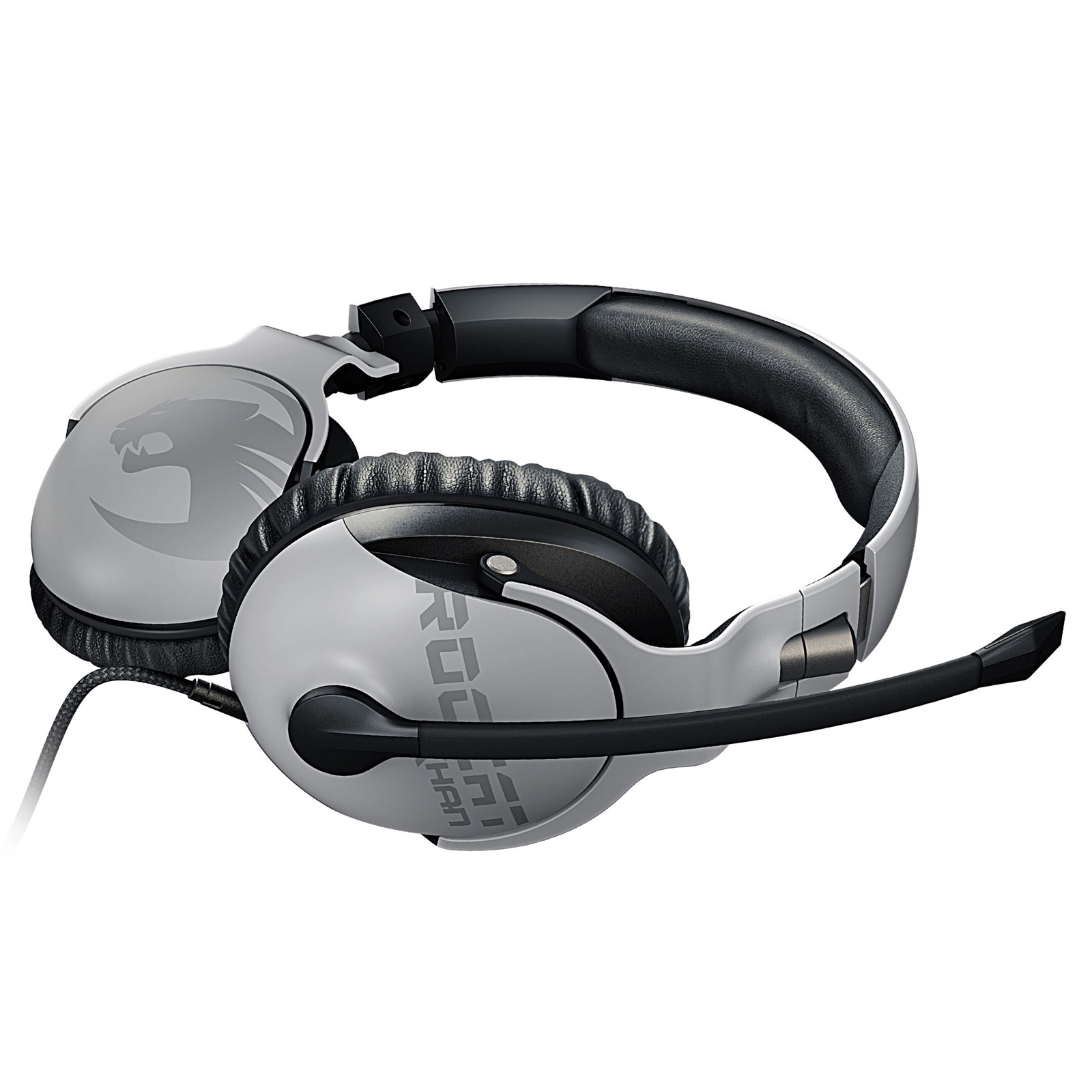 Roccat Khan PRO Blanc Stereo Blanc - Micro-casque - Cybertek.fr - 1
