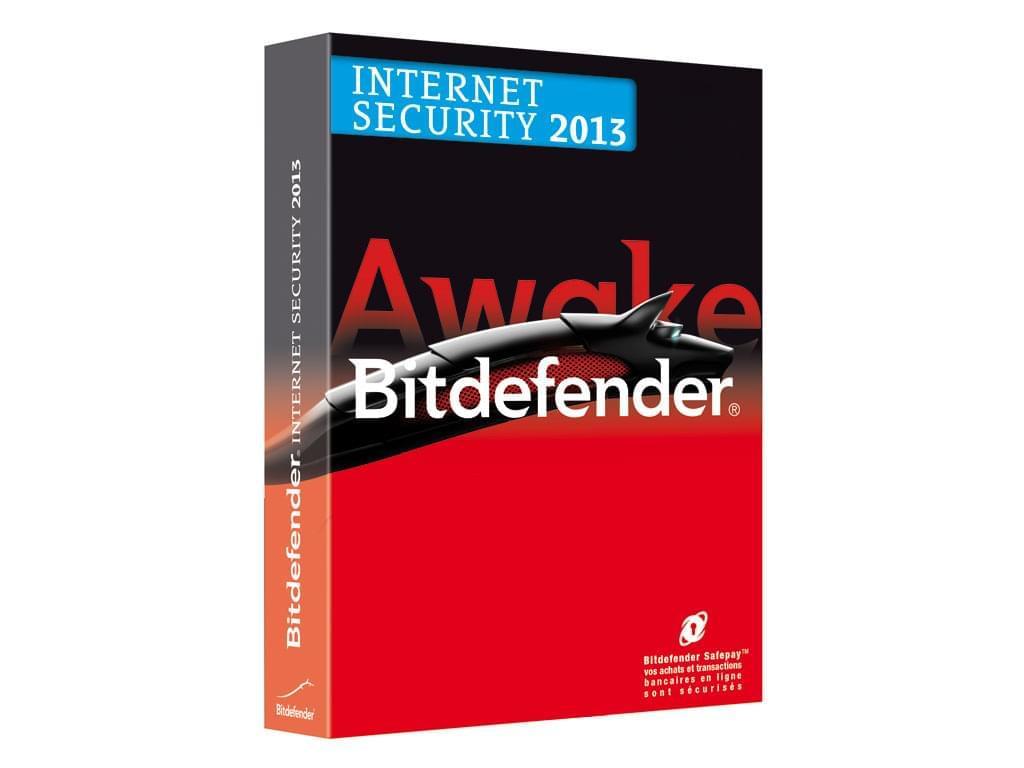 Bitdefender Internet Security 2013 (D-FBDIS-3W1P001) - Achat / Vente Logiciel sécurité sur Cybertek.fr - 0