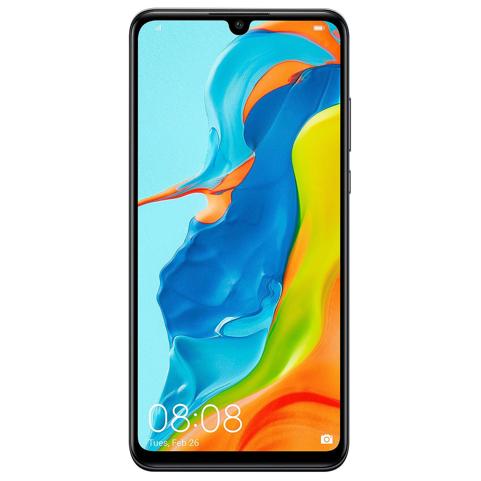 Huawei P30 Lite 128Go Black - Téléphonie Huawei - Cybertek.fr - 0