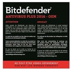 Bitdefender Antivirus Plus OEM 1 an (ne pas commander) - Achat / Vente Logiciel sécurité sur Cybertek.fr - 0