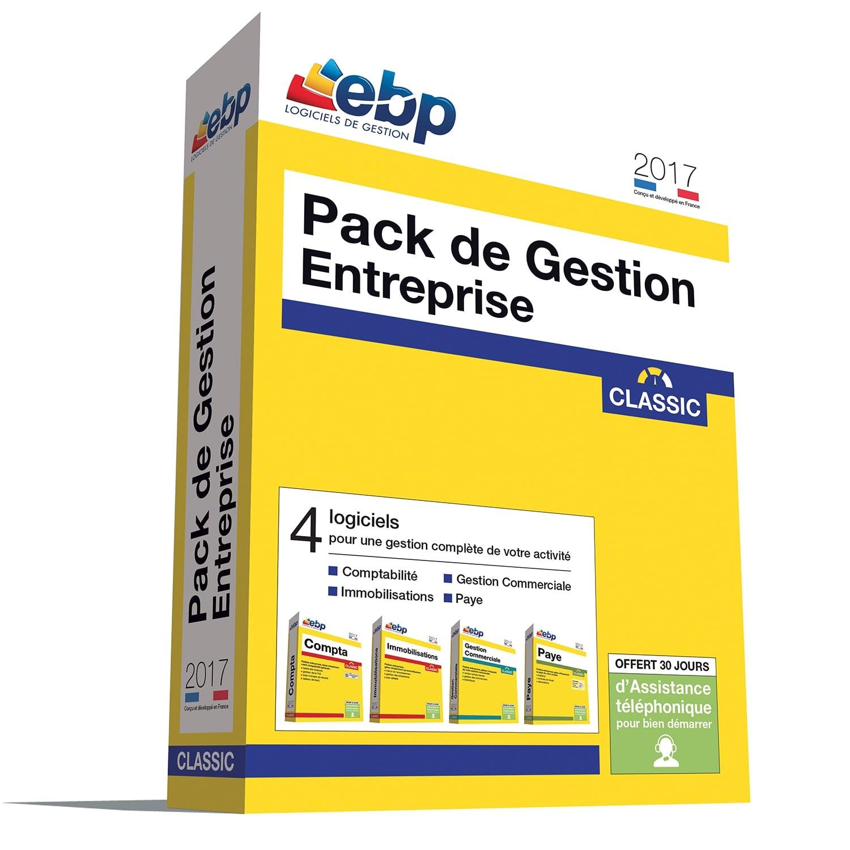 EBP Pack de Gestion Entreprise Classic 2017 + ODR 80€ - Logiciel application - 0