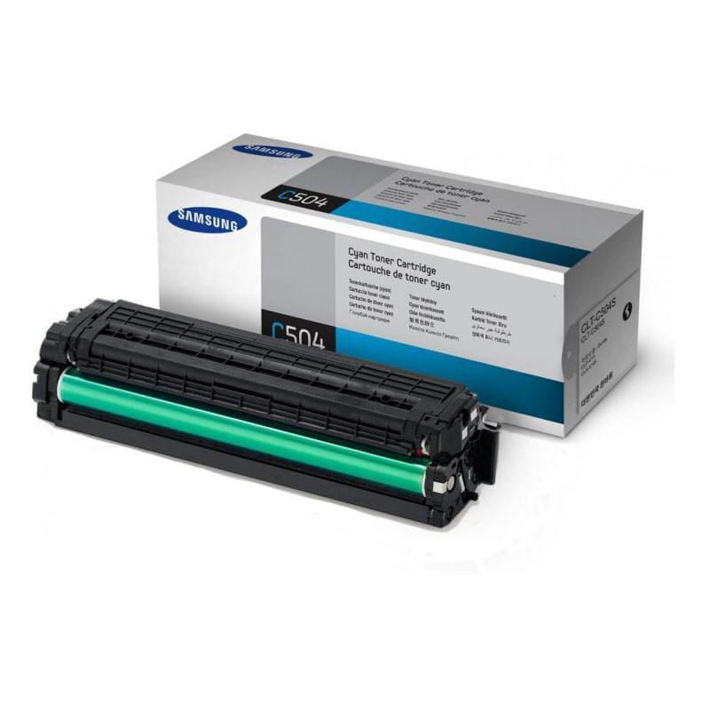 Toner Cyan CLT-C504S pour imprimante  Samsung - 0