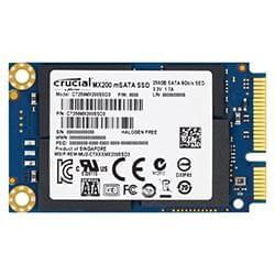 Crucial Disque SSD 250Go mSATA MX200 - CT250MX200SSD3 Cybertek