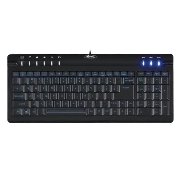 Advance Office Rainbow (touches rétro éclairées) (CLA-EL963) - Achat / Vente Clavier PC sur Cybertek.fr - 0