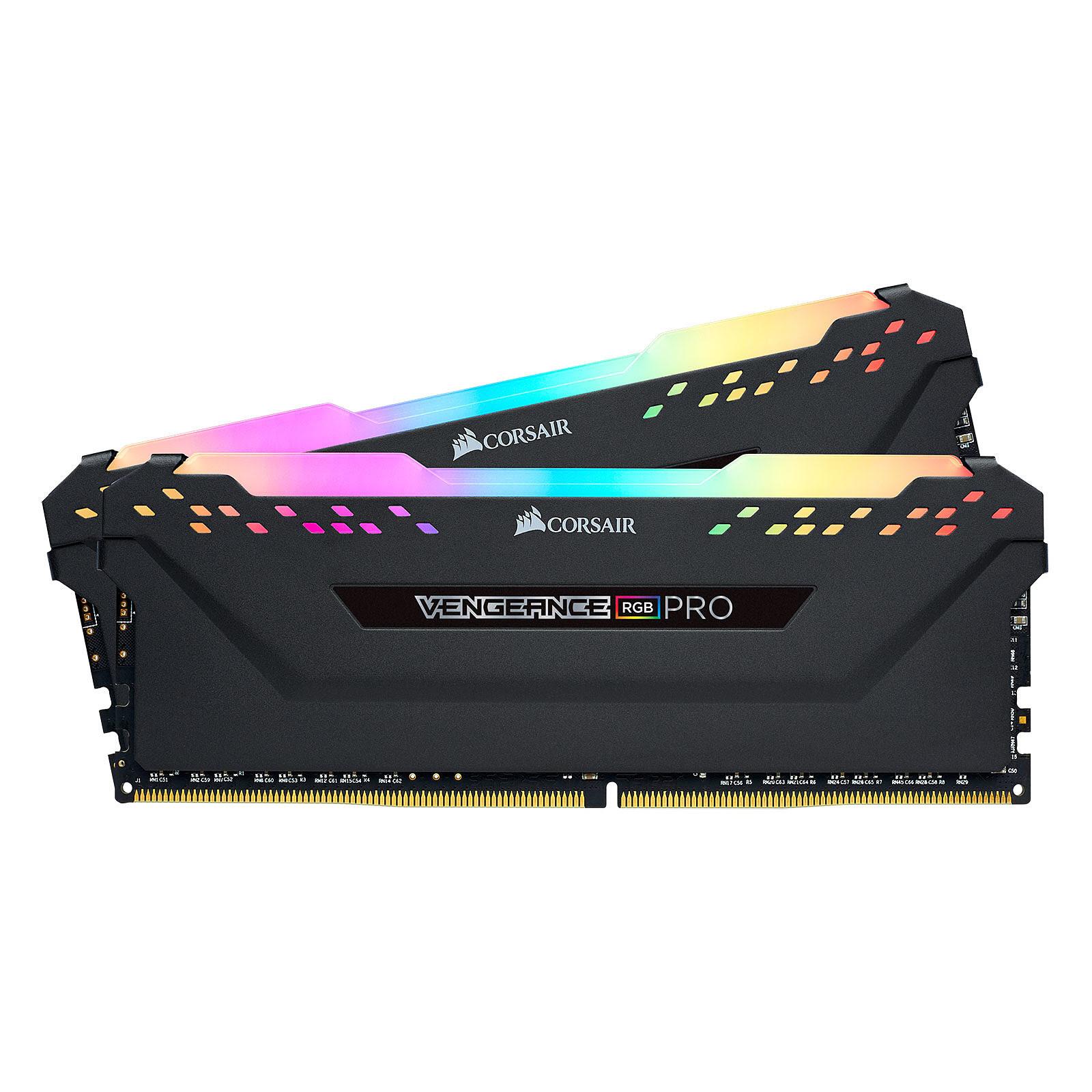 Corsair Vengeance RGB PRO  16Go DDR4 3200MHz PC25600 - Mémoire PC Corsair sur Cybertek.fr - 3