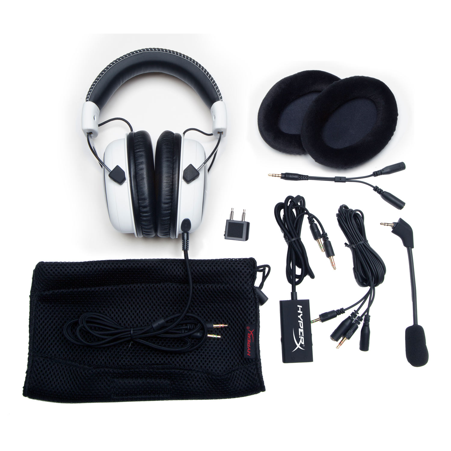 HyperX Cloud Gaming Headset (White) Stereo Blanc - Micro-casque - 3