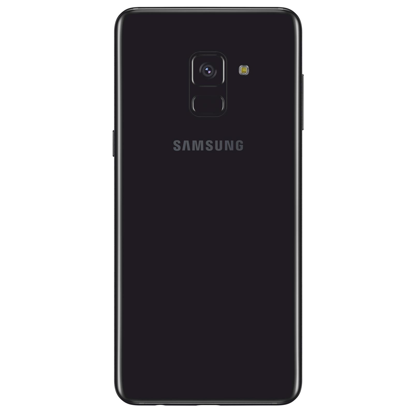 Samsung Galaxy A8 A530 32Go Noir Dual Sim (SM-A530FZKDXEF) - Achat / Vente Téléphonie sur Cybertek.fr - 1