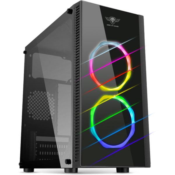 Spirit Of Gamer Deathmatch 6 RGB Noir - Boîtier PC - 0