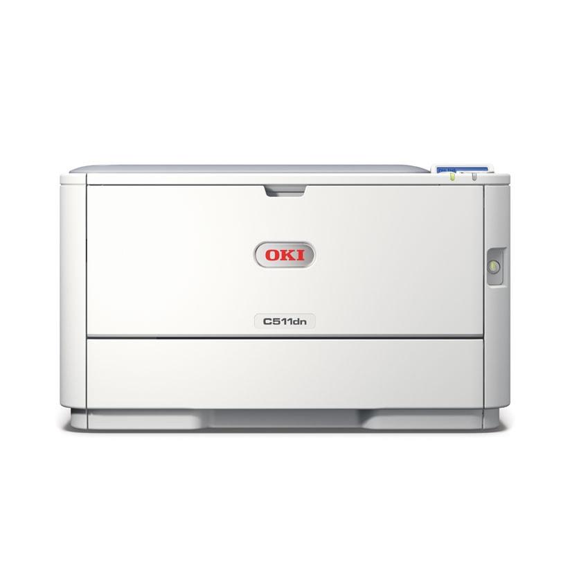 Oki C511dn (LED Couleur/RV/LAN) (44951604) - Achat / Vente Imprimante sur Cybertek.fr - 2