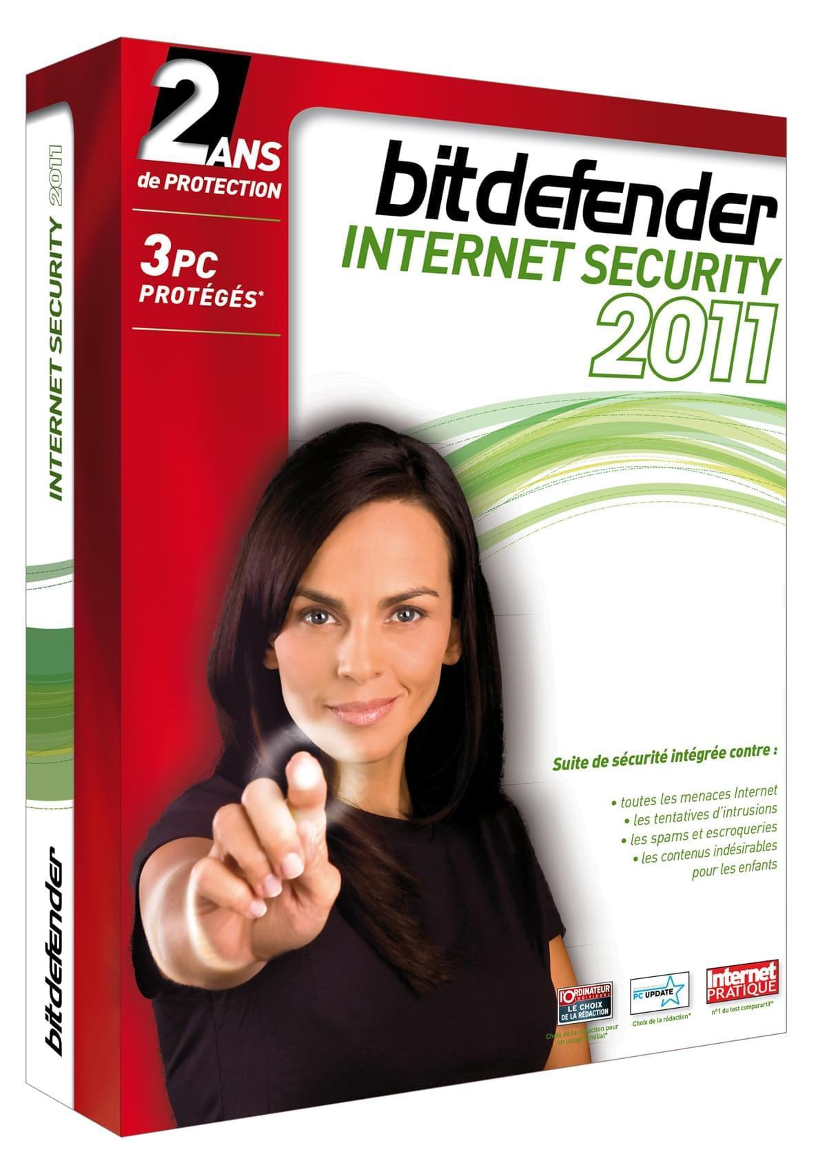 Bitdefender Internet Security 2011 (B-FBDIS-1W2P003) - Achat / Vente Destockage sur Cybertek.fr - 0