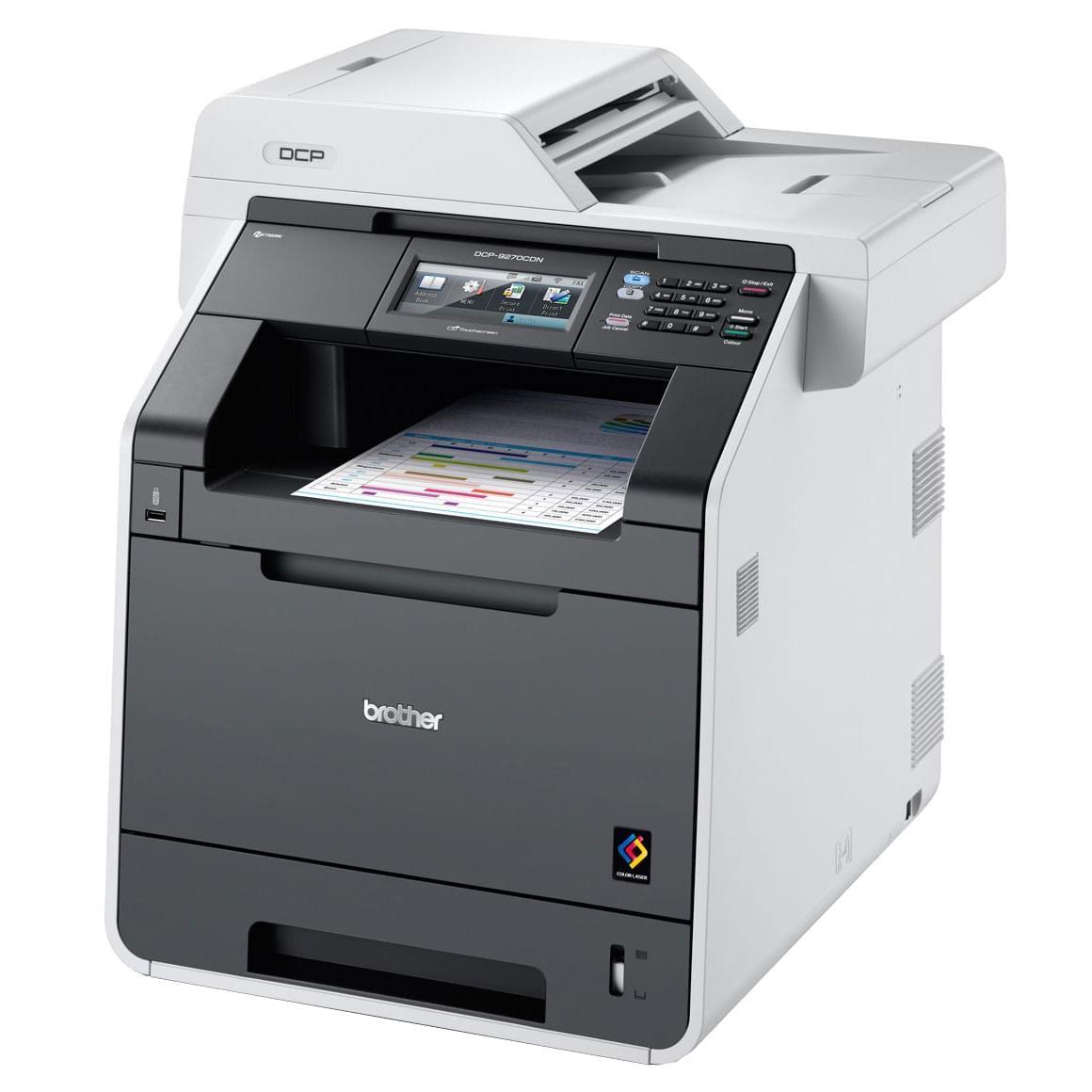 Brother DCP-9270CDN (DCP9270CDNRF1) - Achat / Vente Imprimante multifonction sur Cybertek.fr - 0