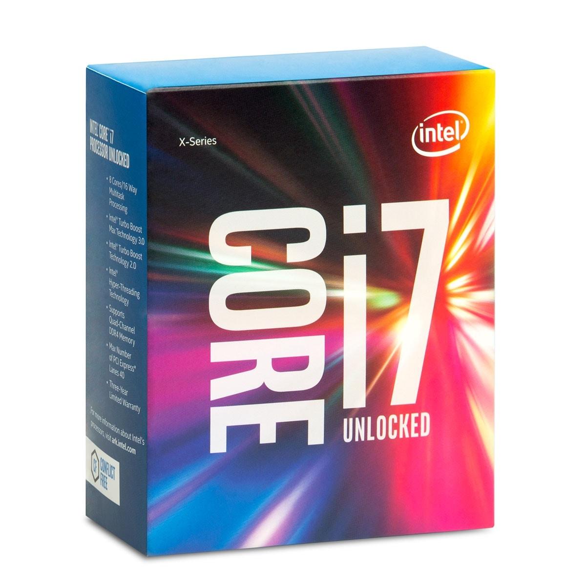 Intel Core i7-6800K - 3.4GHz - Processeur Intel - Cybertek.fr - 0