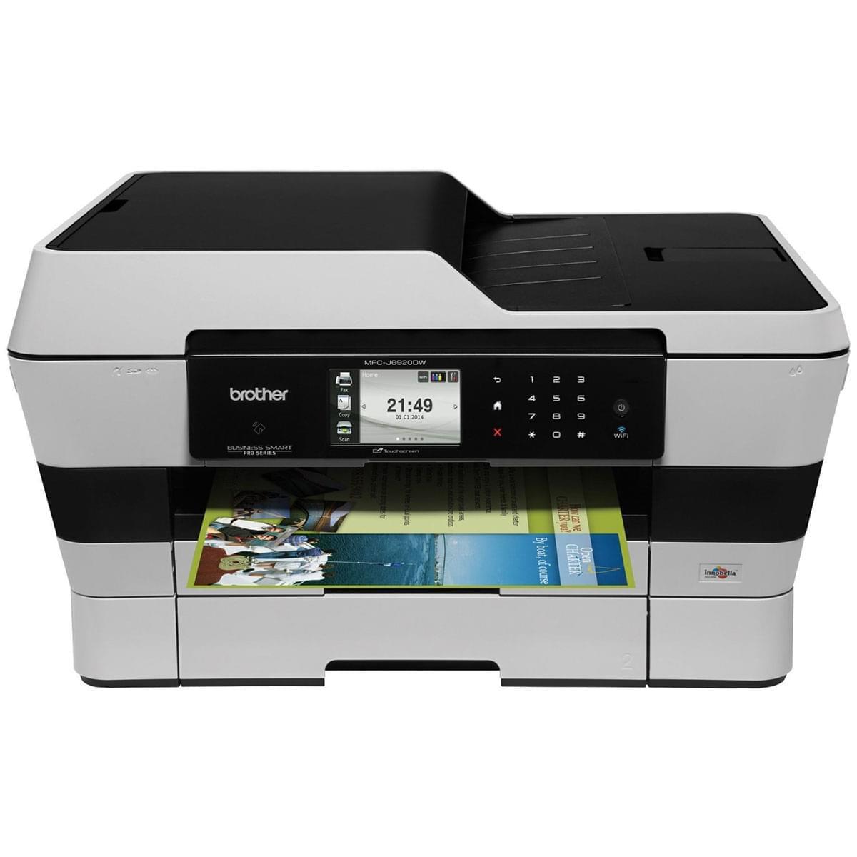 Brother MFC-J6920DW (BRBUNMFCJ6920DWEXT) - Achat / Vente Imprimante multifonction sur Cybertek.fr - 0