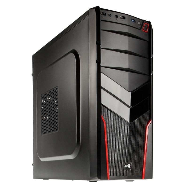 Aerocool V2X Red Edition (EN52650 / GESI-200) - Achat / Vente Boîtier PC sur Cybertek.fr - 0