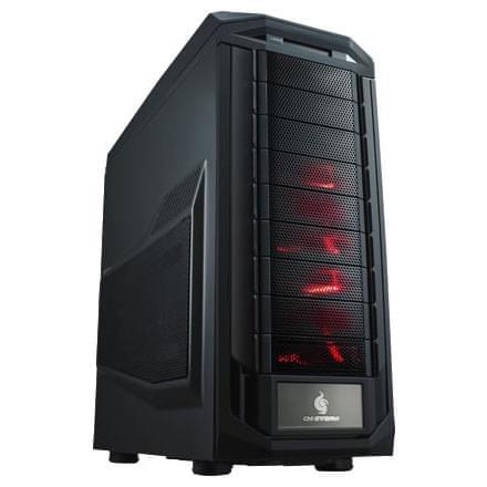 Cooler Master GT/Sans Alim/EATX Rouge - Boîtier PC Cooler Master - 0