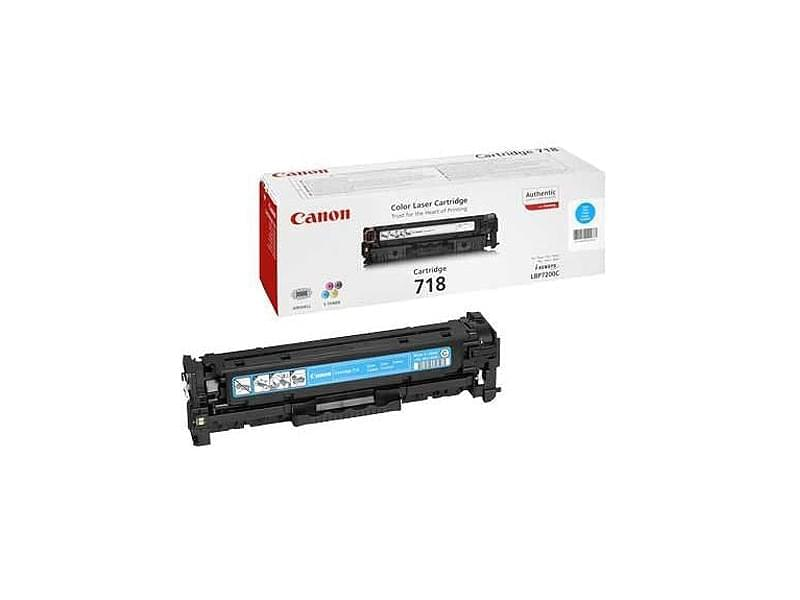 Consommable imprimante Canon Toner 718 Cyan 3000p - 2661B002