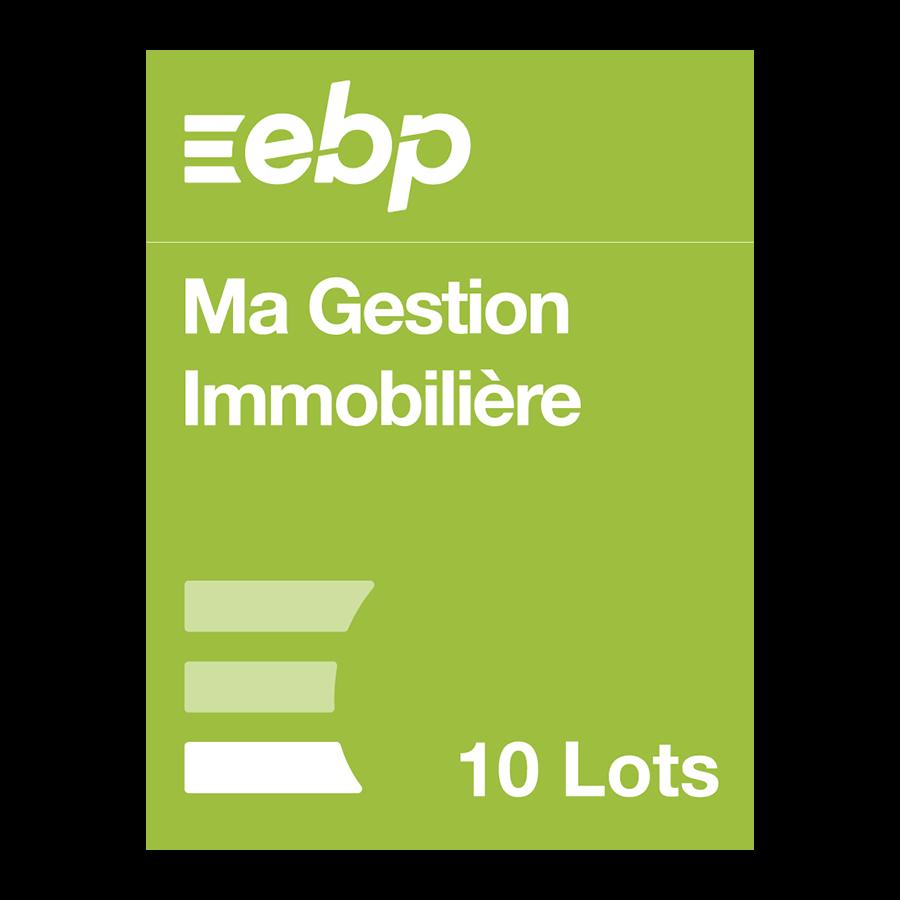 EBP Ma Gestion Immobilière version 10 lots - Logiciel application - 0