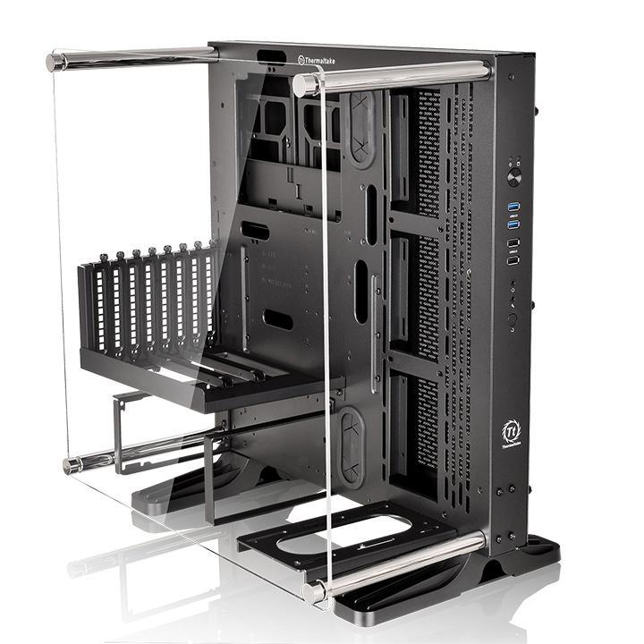 Thermaltake Core P3 Black Transparent - Boîtier PC Thermaltake - 0