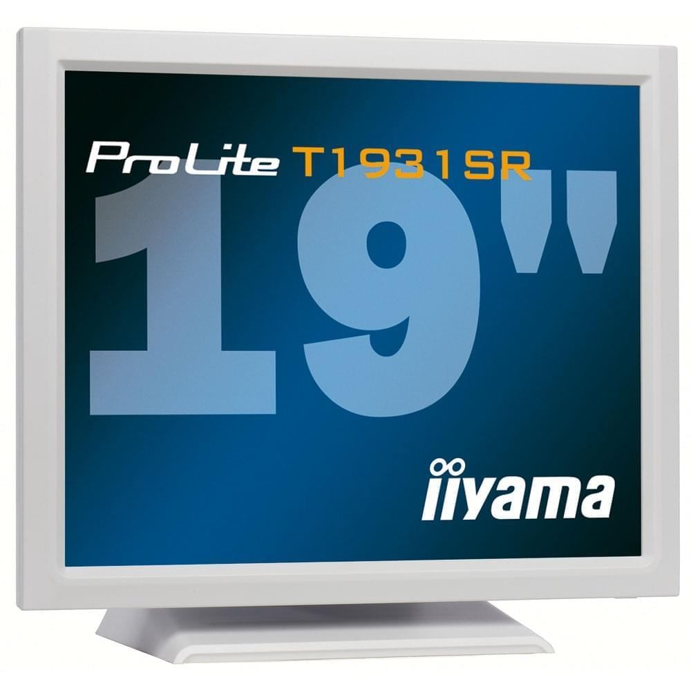 Iiyama PLT1931SR-W1 (PLT1931SR-W1 soldé) - Achat / Vente Ecran PC sur Cybertek.fr - 0