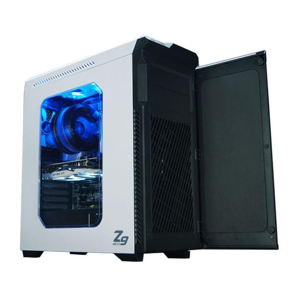 Zalman Z9 NEO White - Boîtier PC Aluminium - Sans Alim - 2