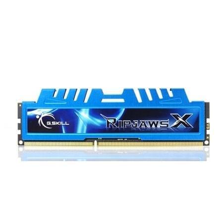G.Skill F3-17000CL9D-8GBXM RIPJAWS-X 8Go (2x4Go) DDR3-2125 (F3-17000CL9D-8GBXM) - Achat / Vente Mémoire PC sur Cybertek.fr - 0