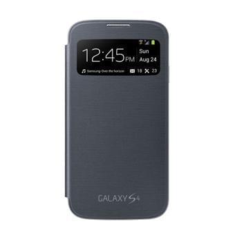 Etui et Coque S View Cover Galaxy S4 Black - Accessoire téléphonie Samsung - 0