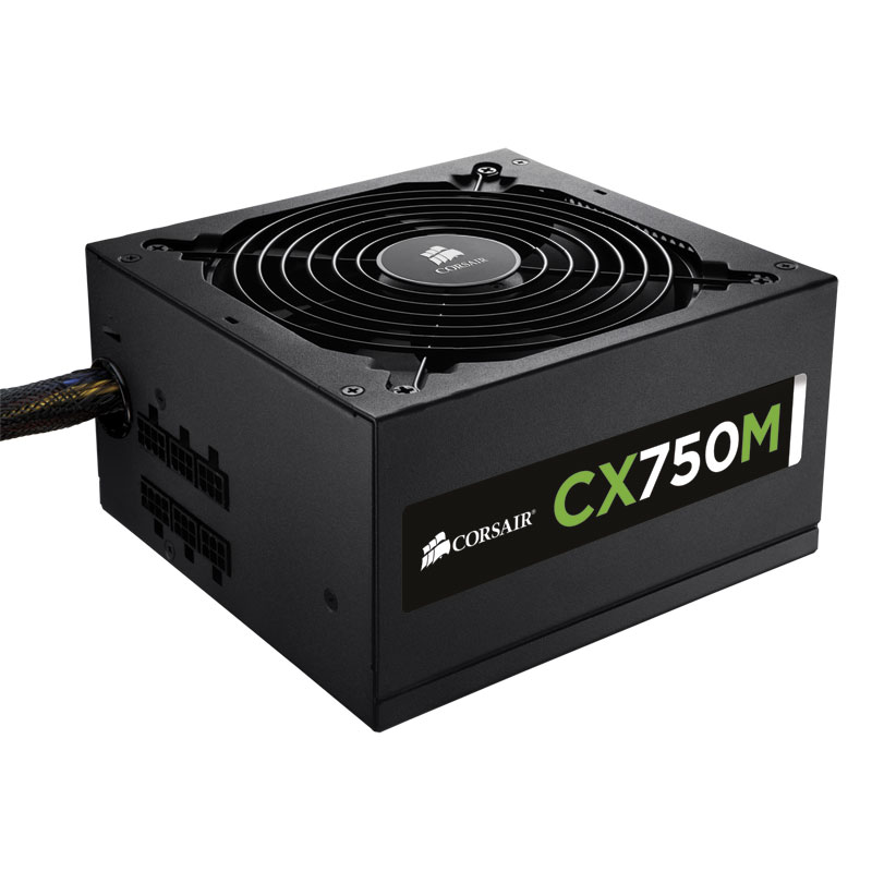 Corsair CX750M 80+ Bronze Mod. (750W) - Alimentation Corsair - 0
