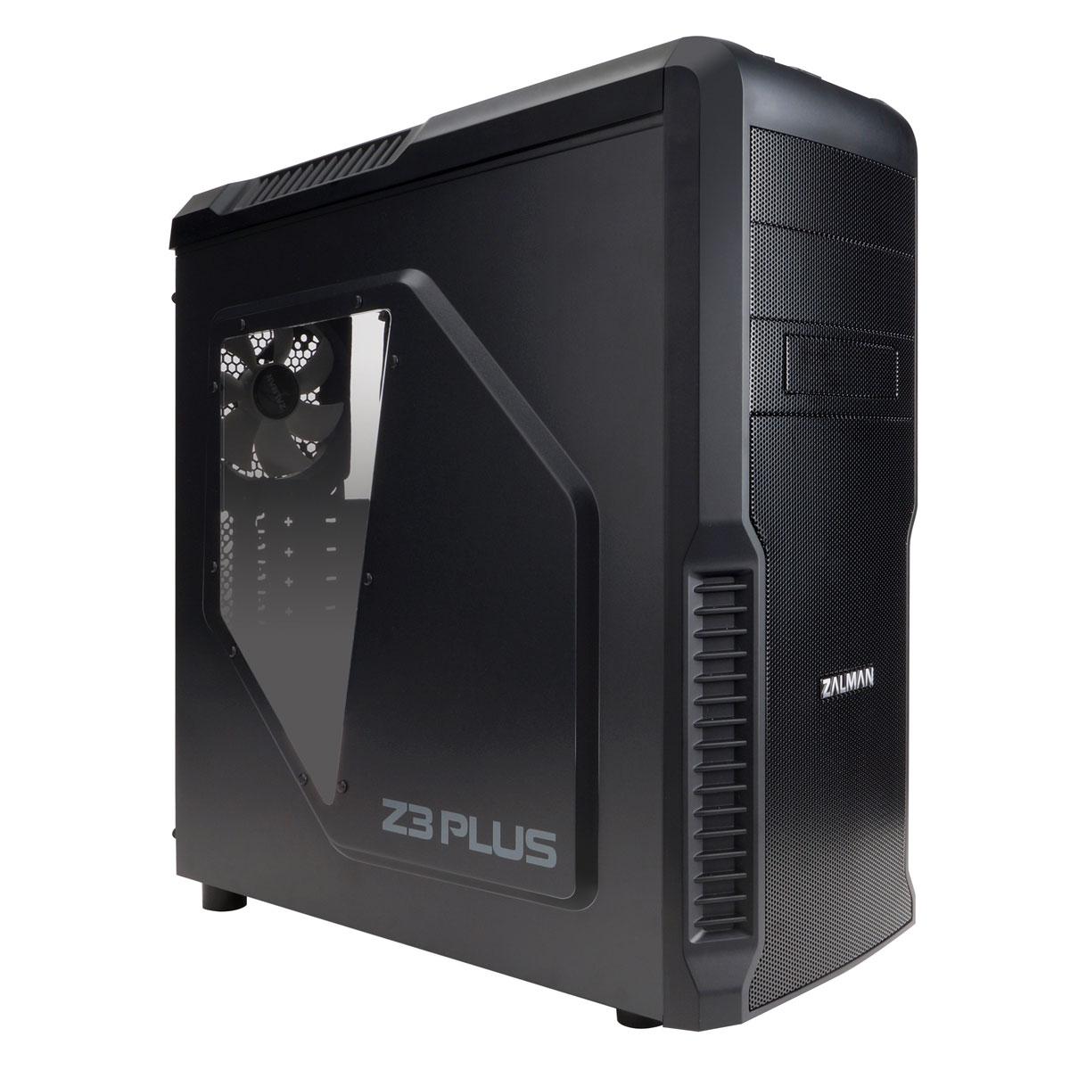 Zalman Z3 Plus Noir Noir - Boîtier PC Zalman - Cybertek.fr - 3