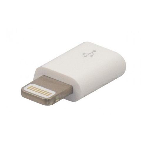 Adaptateur Micro USB B Femelle Vers lightning Male - Accessoire téléphonie No Name - 0