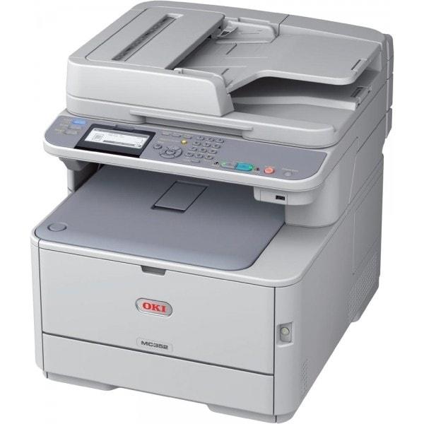Oki MC362dn (LED Couleur/Fax/Réseau/R-V/PCL) (44952004) - Achat / Vente Imprimante Multifonction sur Cybertek.fr - 0