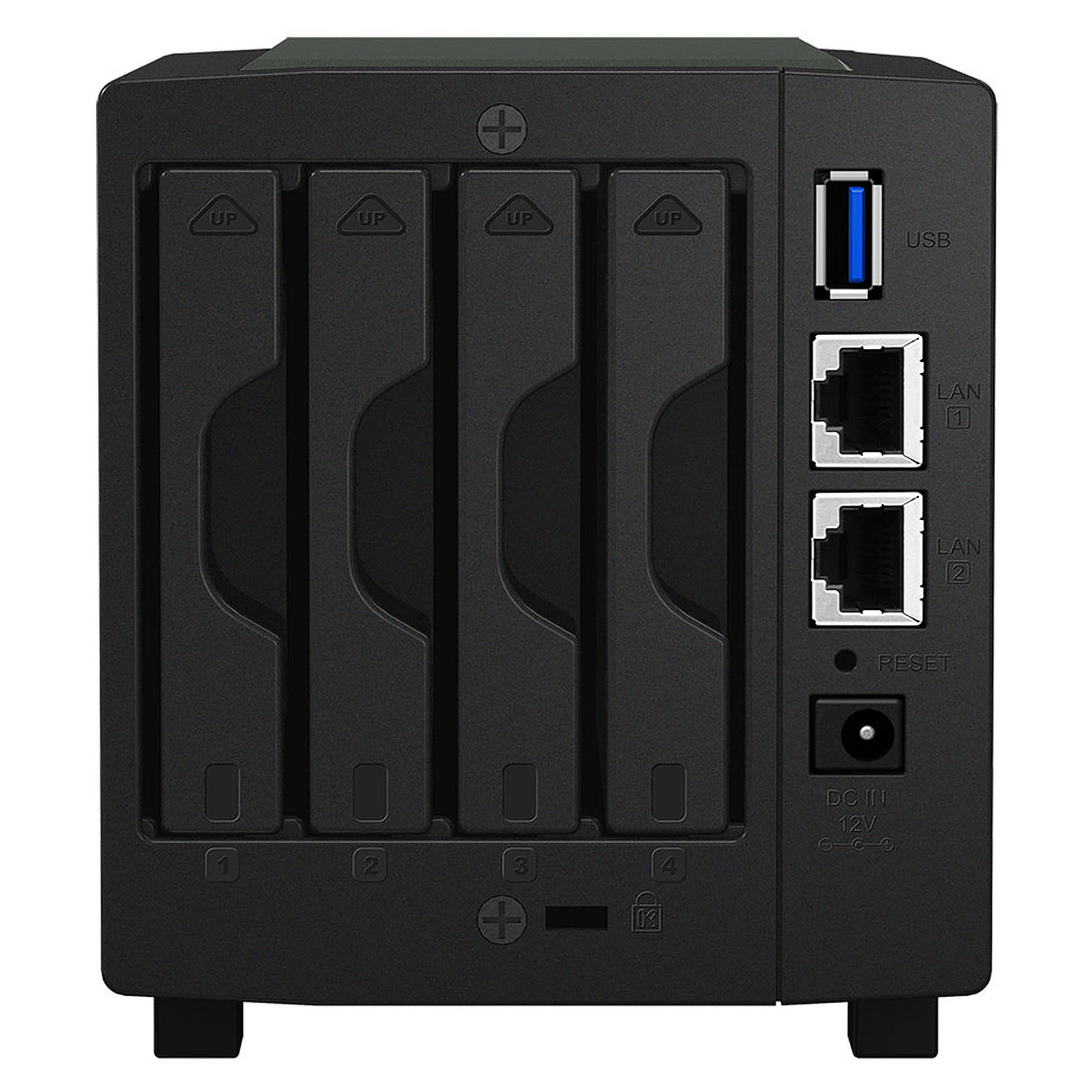 "Synology DS419Slim - 4 HDD 2.5"" - Serveur NAS Synology - 1"