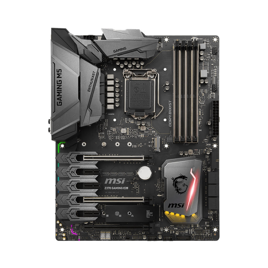 MSI Z370 GAMING M5 ATX DDR4 - Carte mère MSI - Cybertek.fr - 4