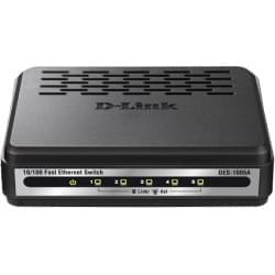 Switch D-Link 5 Ports 10/100/1000Mbps Dlinkgo DGS-1005A - 0