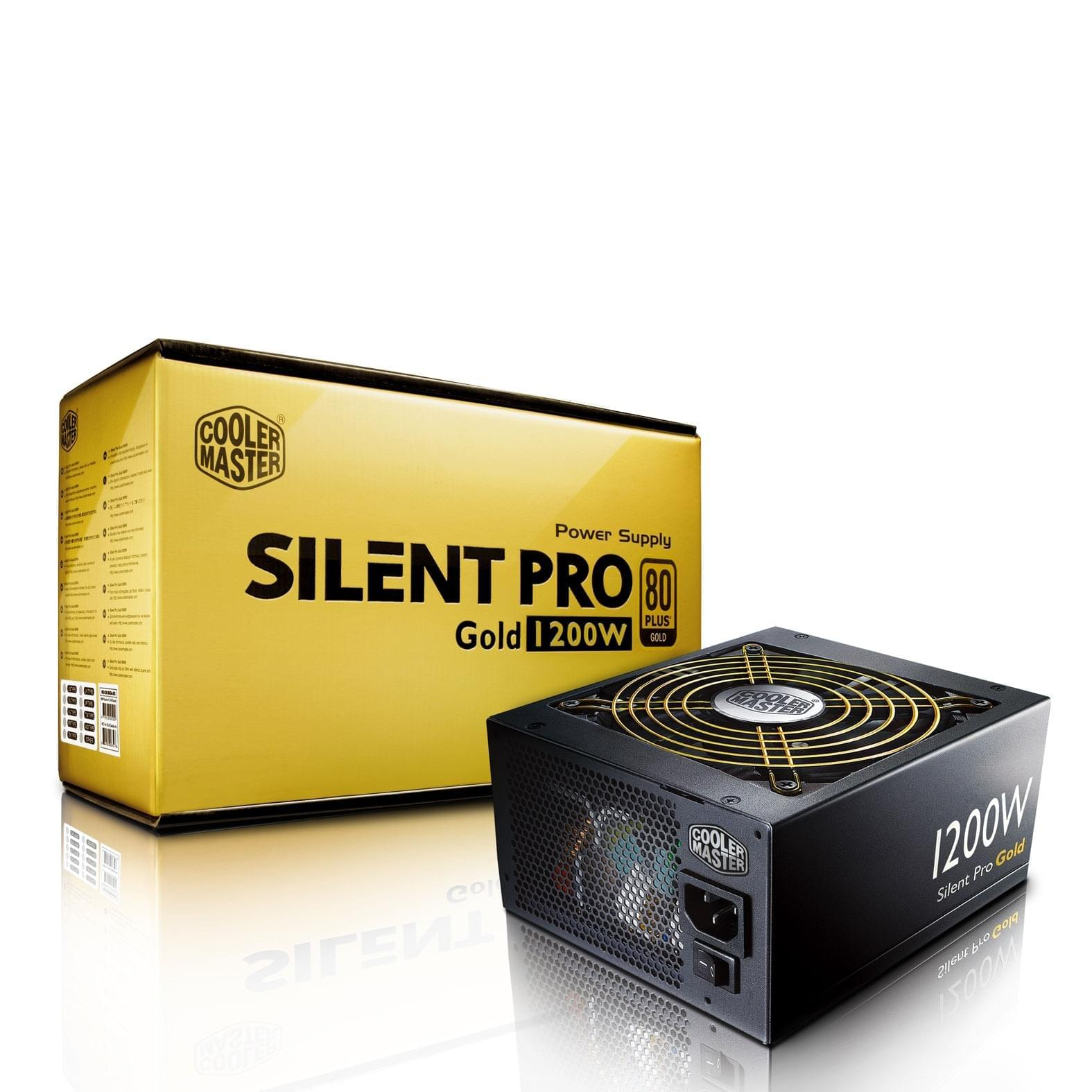 Alimentation PC Cooler Master ATX 1200 Watts Silent Pro Gold 1200 80+ Gold - 0