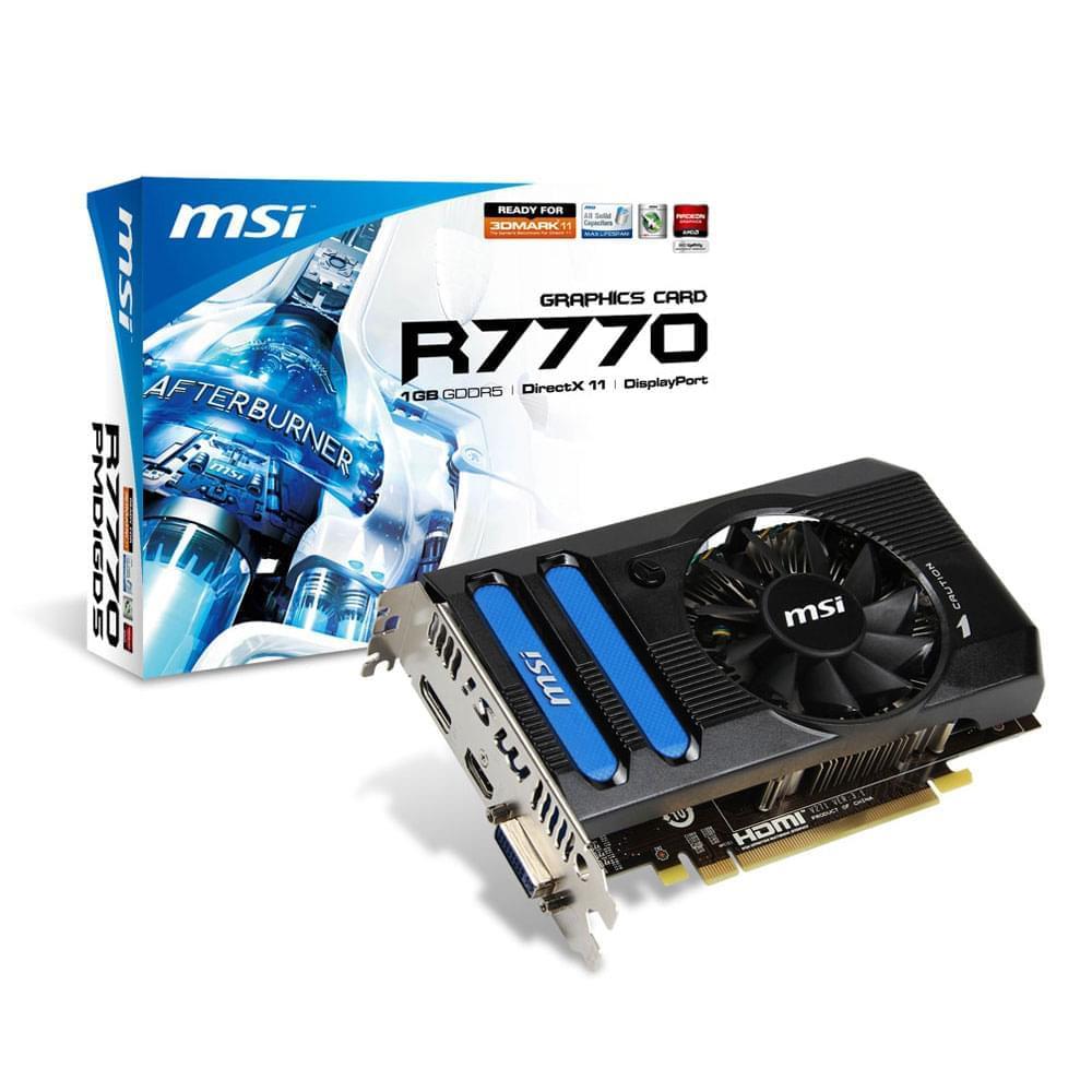 MSI  - 1Go - carte Graphique PC - GPU  - 0