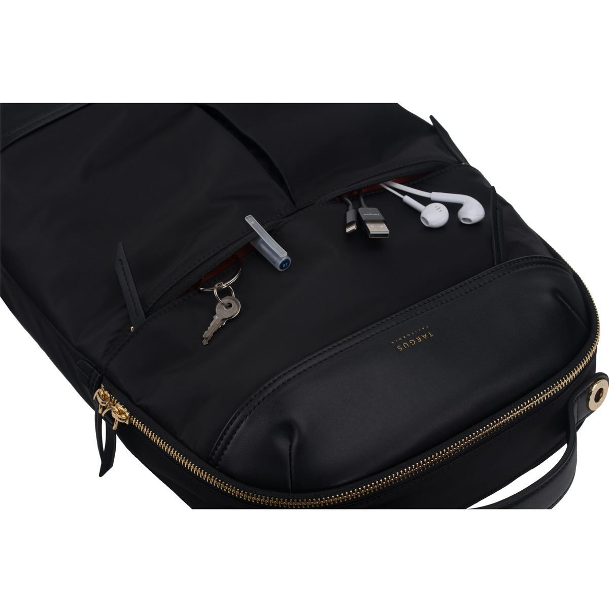 "TSB945GL Newport Backpack 15"" Black Targus - Sac et sacoche - 2"