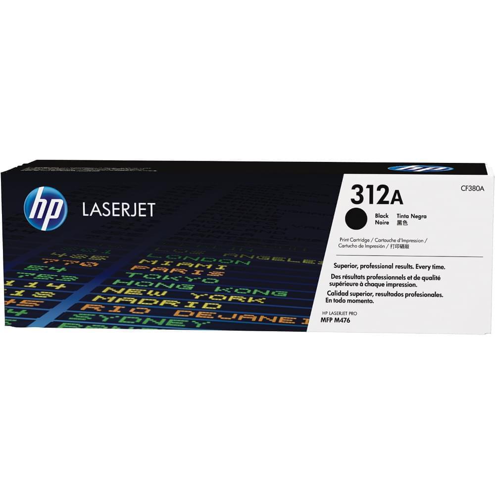 Toner Black HP 312A - CF380A pour imprimante Laser HP - 0