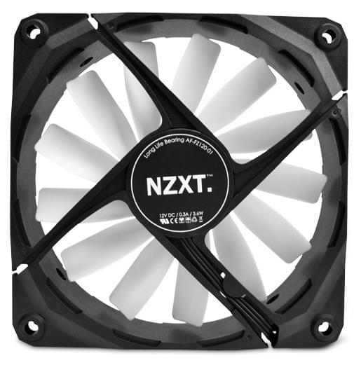 Ventirad NZXT FZ-140 LED White - 0