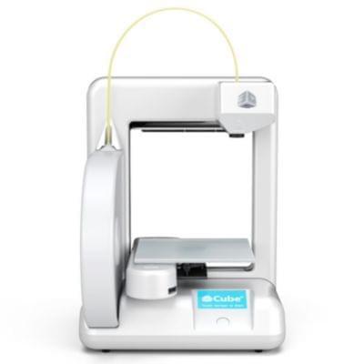 Imprimante 3D Systems CUBE PRINTER Blanche (3D) - Cybertek.fr - 0