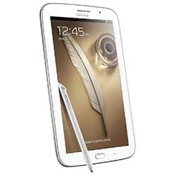 Tablettes SAMSUNG GALAXY NOTE 80 WIFI BLANC 16GO 8\