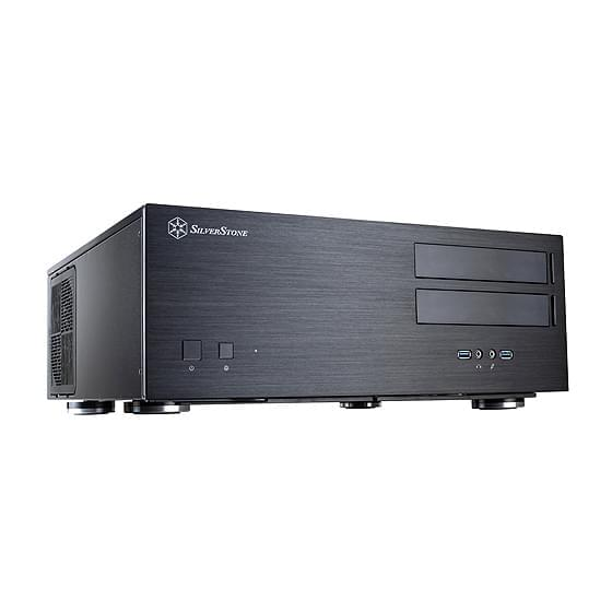 Silverstone Grandia GD08 (SST-GD08B USB 3.0) - Achat / Vente Boîtier PC sur Cybertek.fr - 0